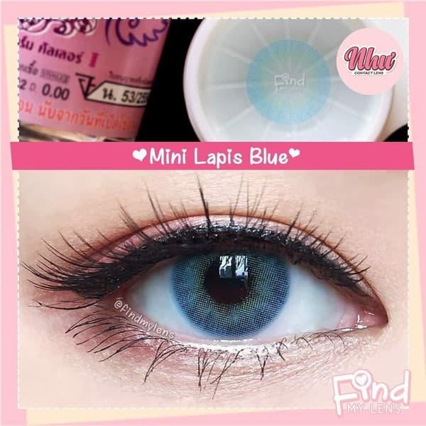 Lens lapis blue