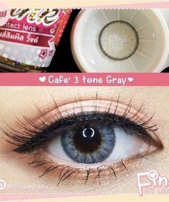 lens-café 3 tone-gray