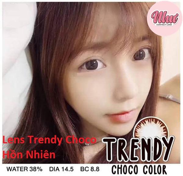 Trendy choco lens