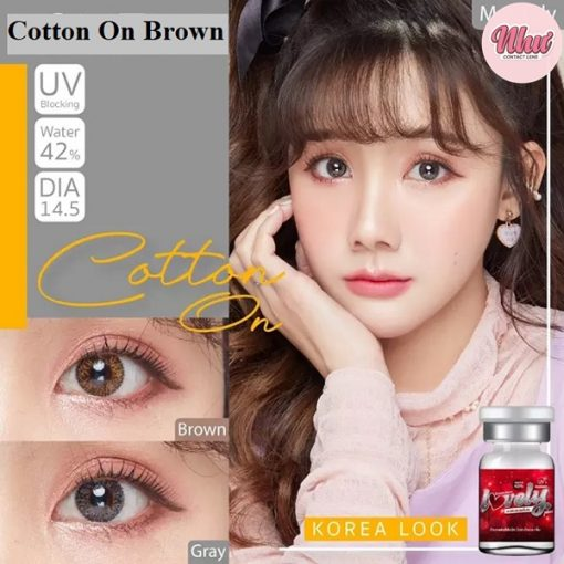 Lens Cotton On brown
