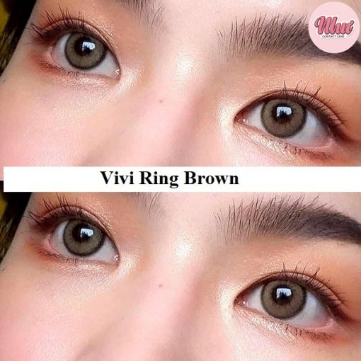 Lens Vivi Ring Brown