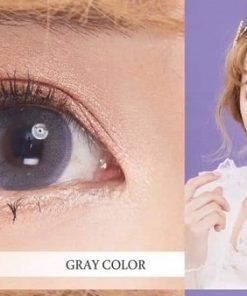 Opal Gray, màu mắt xám tây ánh tím tuyệt đẹp cho các nàng
