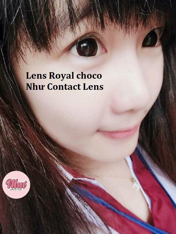 Royal choco lens
