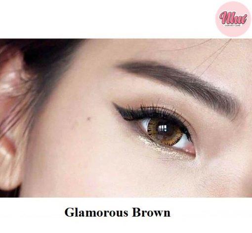 Lens Glamorous Brown