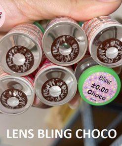 kính áp tròng bling choco