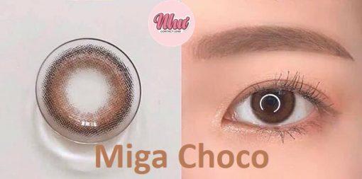 Kính áp tròng Miga Choco