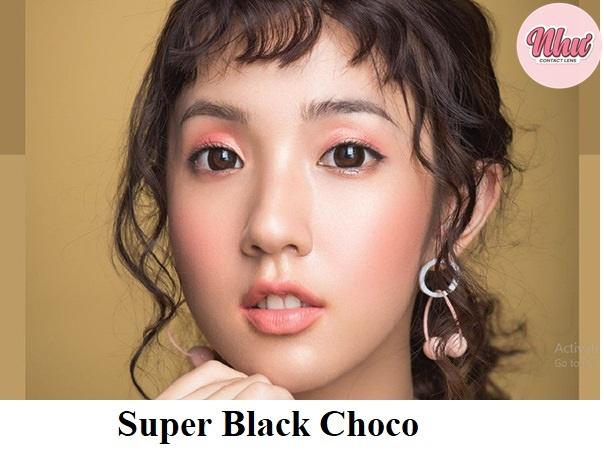 Lens Super Black Choco