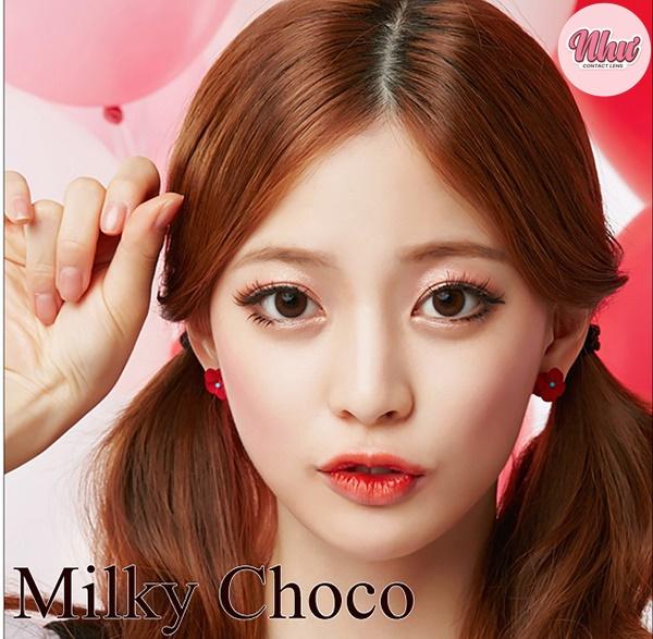 Lens Milky Choco