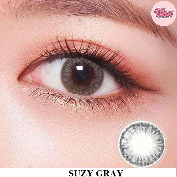 lens suzy gray xám tây